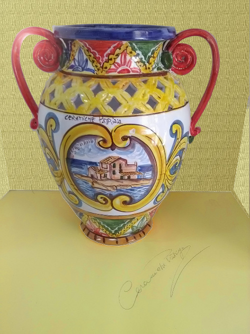 Anfore in Ceramica Artistica Siciliana