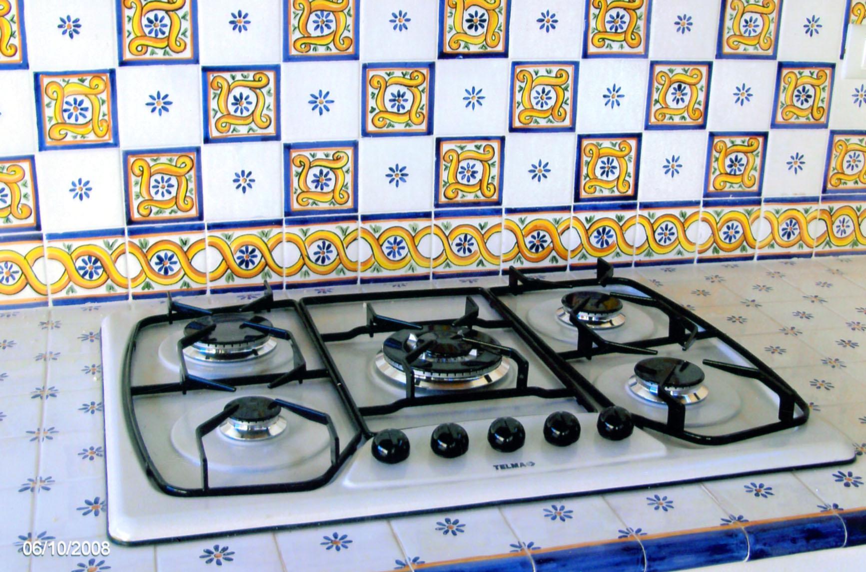 Piano Cottura In Muratura cucina in muratura - piano cottura